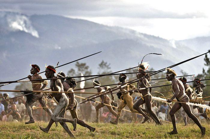 Festival Tahunan Lembah Baliem di Papua
